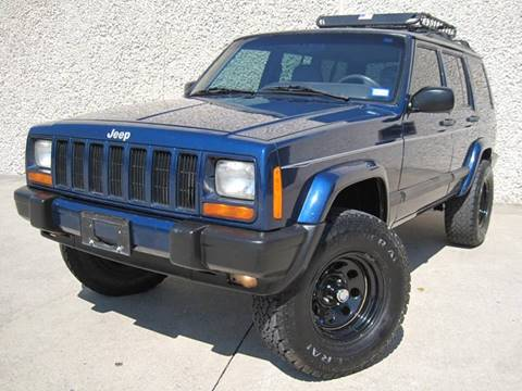 2001 Jeep Cherokee for sale at Ritz Auto Group in Dallas TX