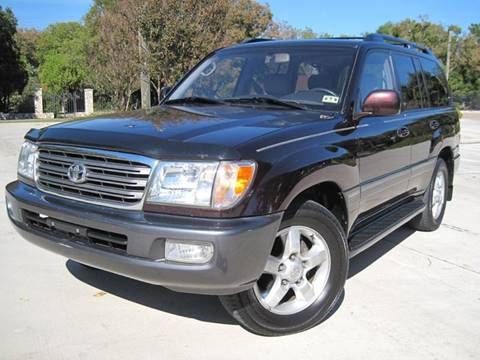 2003 Toyota Land Cruiser for sale at Ritz Auto Group in Dallas TX