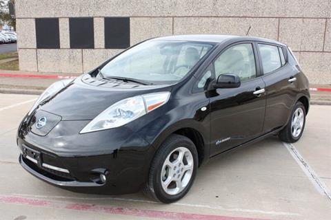 2012 Nissan LEAF for sale in Arlington, TX