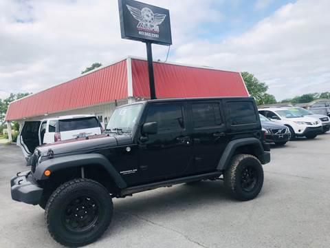 2014 Jeep Wrangler Unlimited for sale in Joplin, MO