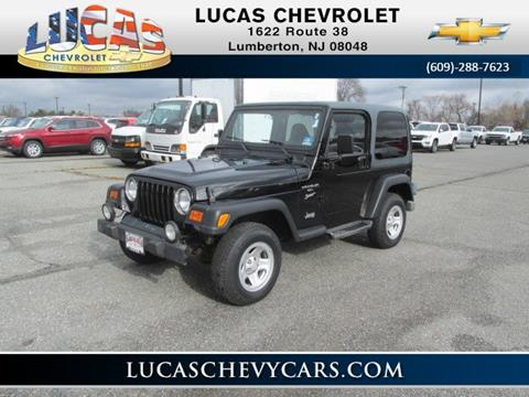 2000 Jeep Wrangler for sale in Lumberton, NJ