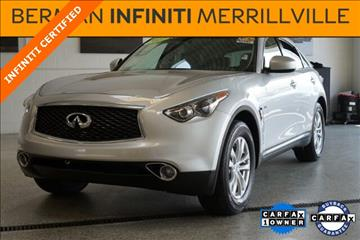 2017 Infiniti QX70 for sale in Merrillville, IN