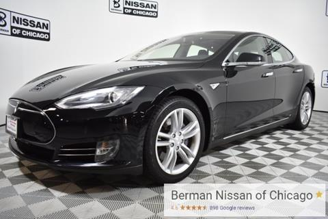 2014 Tesla Model S for sale in Chicago IL