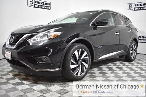 2016 Nissan Murano Hybrid for sale in Chicago IL