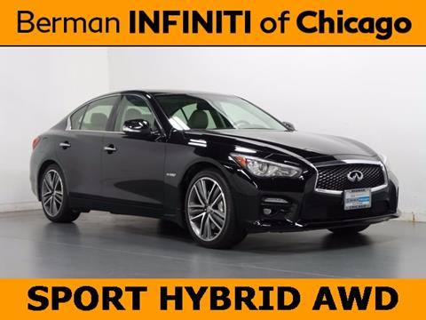 2014 Infiniti Q50 Hybrid for sale in Chicago, IL