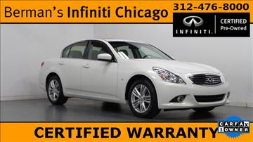 2015 Infiniti Q40 for sale in Chicago, IL
