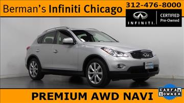 2013 Infiniti EX37 for sale in Chicago, IL