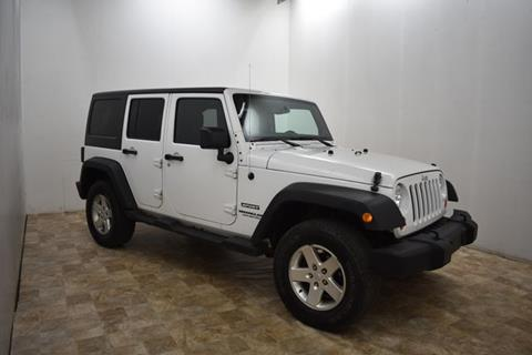 2013 Jeep Wrangler Unlimited for sale in Wyoming, MI