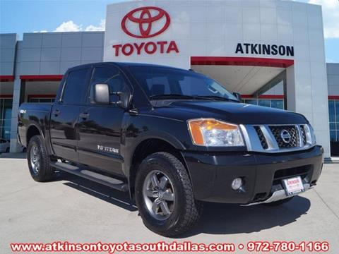2014 Nissan Titan for sale in Dallas, TX