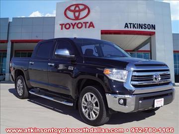 2016 Toyota Tundra for sale in Dallas, TX