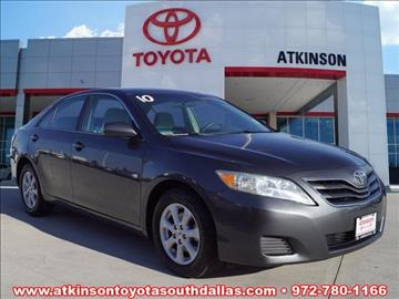 2010 Toyota Camry for sale in Dallas, TX