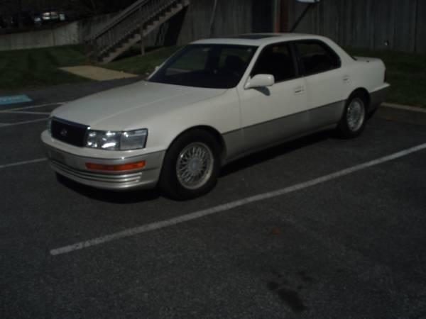 1993 lexus ls 400 4dr sedan in baltimore md big ben 39 s used cars. Black Bedroom Furniture Sets. Home Design Ideas
