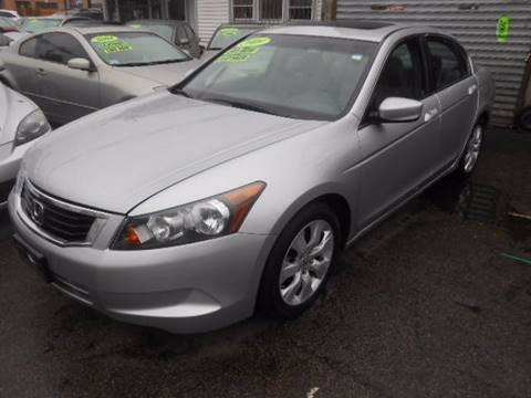 2009 Honda Accord for sale at N H AUTO WHOLESALERS in Roslindale MA