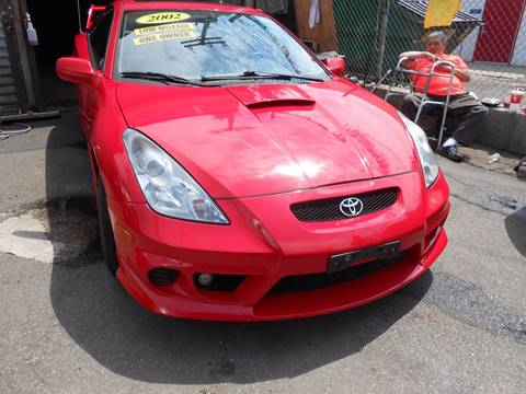 2002 Toyota Celica for sale at N H AUTO WHOLESALERS in Roslindale MA