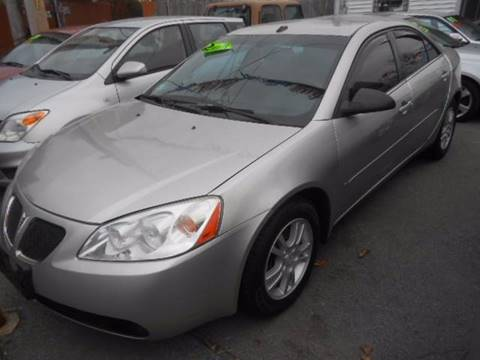 2008 Pontiac G6 for sale at N H AUTO WHOLESALERS in Roslindale MA