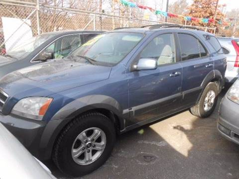 2005 Kia Sorento for sale at N H AUTO WHOLESALERS in Roslindale MA