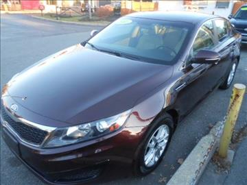 2011 Kia Optima for sale at N H AUTO WHOLESALERS in Roslindale MA
