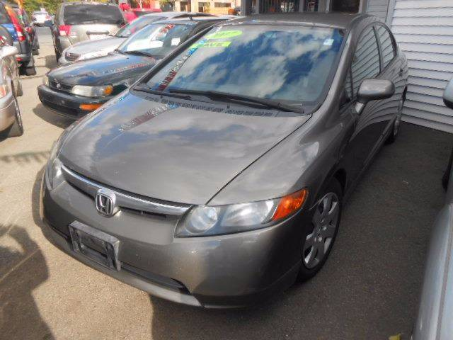 2007 Honda Civic for sale at N H AUTO WHOLESALERS in Roslindale MA