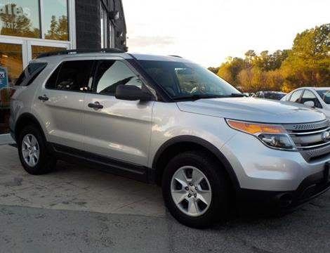 2013 Ford Explorer for sale in Raleigh, NC