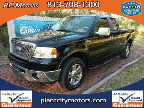 2008 Ford F-150 for sale in Plant City, FL