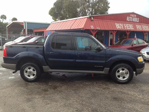 2002 Ford Explorer Sport Trac for sale in Melbourne FL
