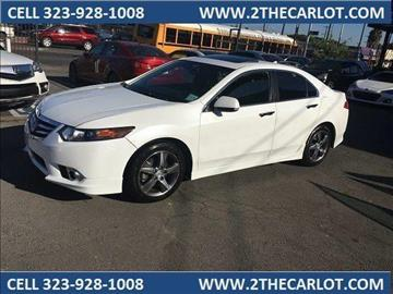 2012 Acura TSX for sale in Los Angeles, CA