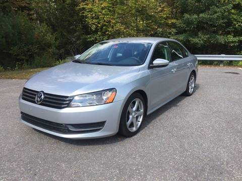 2012 Volkswagen Passat for sale in Belmont, NH