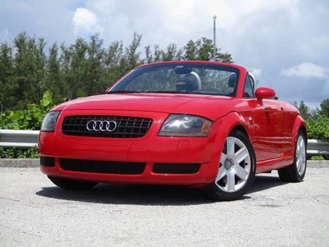 2004 Audi TT for sale in Hollywood, FL