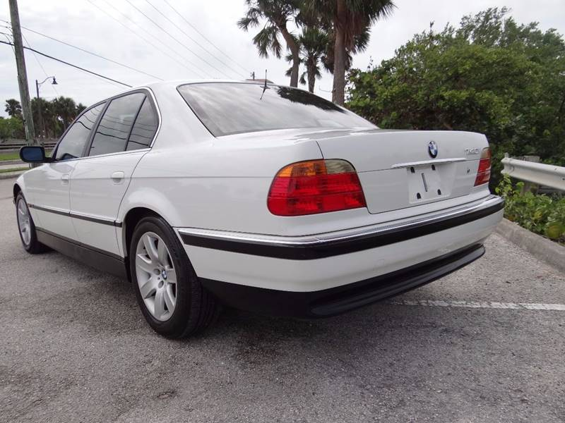 1999 Bmw 7 Series 740i 4dr Sedan In Hollywood FL