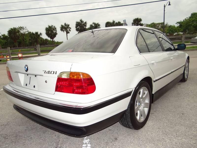 1999 Bmw 7 Series 740i 4dr Sedan In Hollywood FL - E Motors