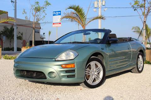 2003 Mitsubishi Eclipse Spyder for sale in Hollywood, FL