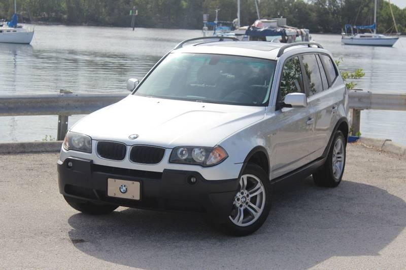 2005 Bmw X3 AWD 3.0i 4dr SUV In Hollywood FL - E Motors