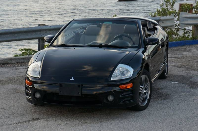 2003 mitsubishi eclipse spyder gts 2dr convertible in hollywood fl