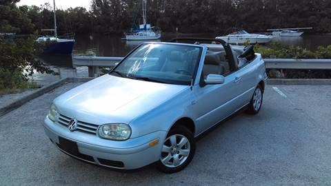 2002 Volkswagen Cabrio for sale in Hollywood, FL