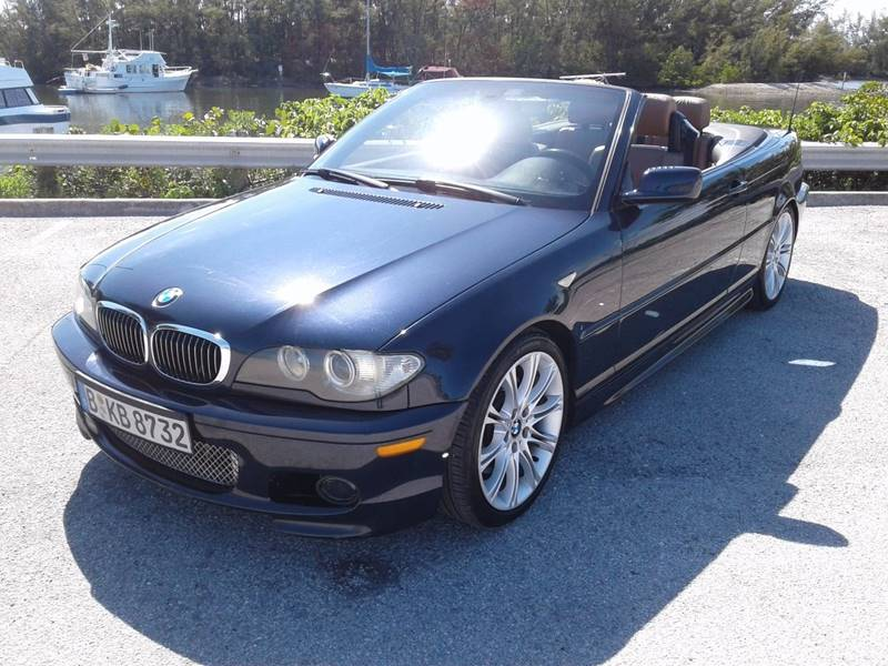 Bmw Series Ci Dr Convertible In Hollywood FL E Motors - 2004 bmw convertible