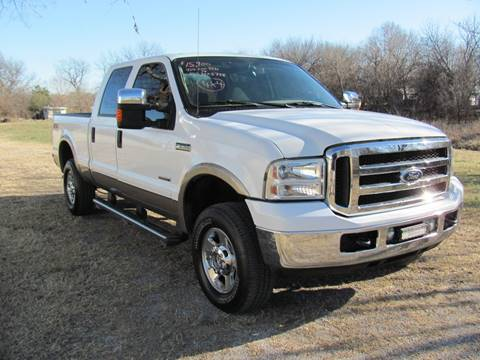 2006 Ford F-250 Super Duty for sale at CANTWEIGHT CLASSICS in Maysville OK