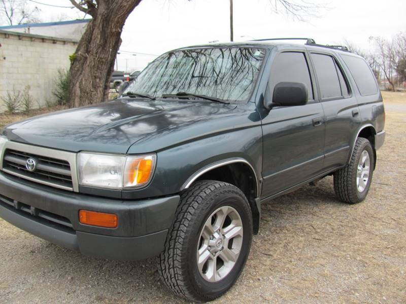 1997 Toyota 4Runner for sale at CANTWEIGHT CLASSICS in Maysville OK