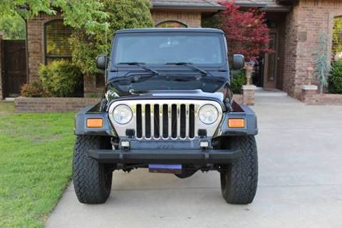 2004 Jeep Wrangler for sale at CANTWEIGHT CLASSICS in Maysville OK