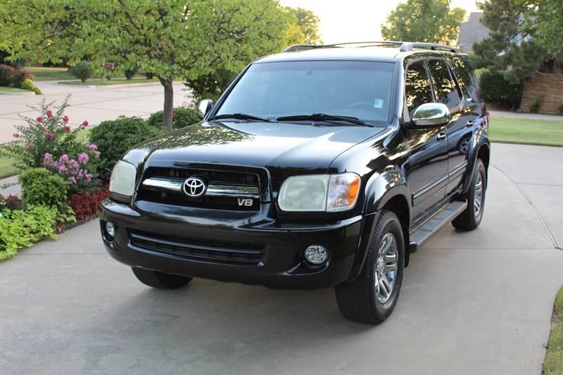 2007 Toyota Sequoia for sale at CANTWEIGHT CLASSICS in Maysville OK