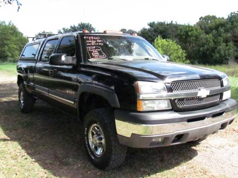 2003 Chevrolet Silverado 1500HD for sale at CANTWEIGHT CLASSICS in Maysville OK