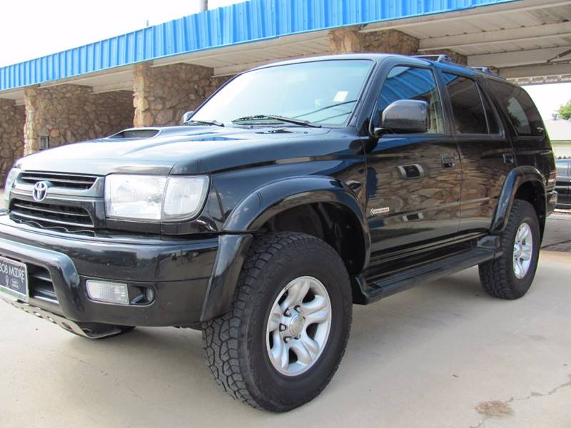 2002 Toyota 4Runner for sale at CANTWEIGHT CLASSICS in Maysville OK