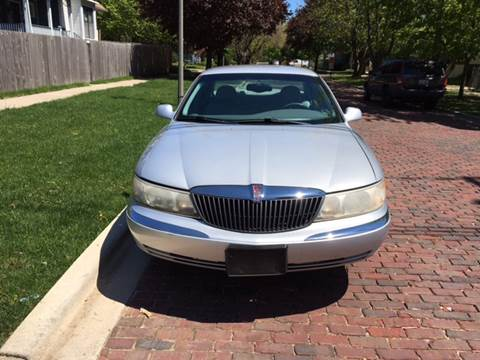 2001 Lincoln Continental for sale at RIVER AUTO SALES CORP in Maywood IL