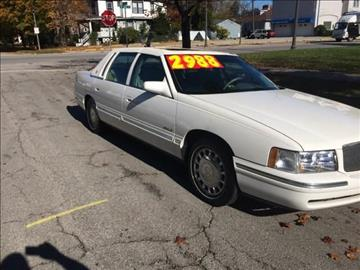 1998 Cadillac DeVille for sale at RIVER AUTO SALES CORP in Maywood IL