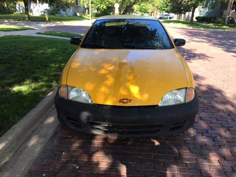 2002 Chevrolet Cavalier for sale at RIVER AUTO SALES CORP in Maywood IL