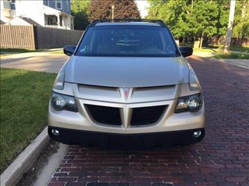 2002 Pontiac Aztek for sale at RIVER AUTO SALES CORP in Maywood IL