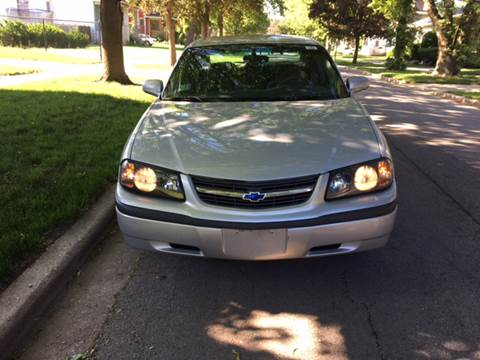 2002 Chevrolet Impala for sale at RIVER AUTO SALES CORP in Maywood IL