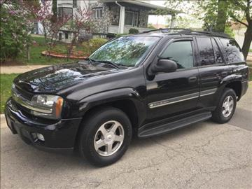 2002 Chevrolet TrailBlazer for sale at RIVER AUTO SALES CORP in Maywood IL