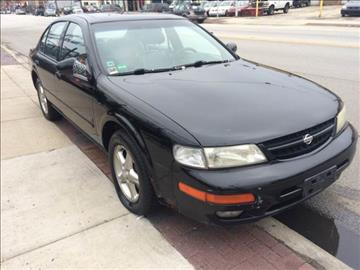 1999 Nissan Maxima for sale at RIVER AUTO SALES CORP in Maywood IL