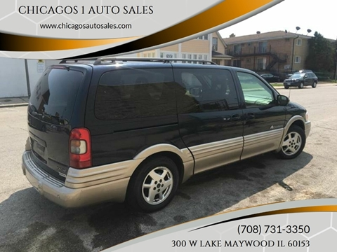 2002 Pontiac Montana for sale in Maywood, IL