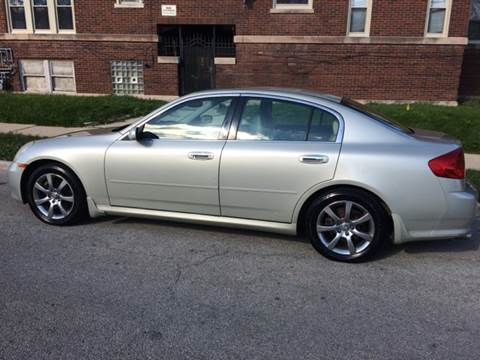 2005 Infiniti G35 for sale at RIVER AUTO SALES CORP in Maywood IL